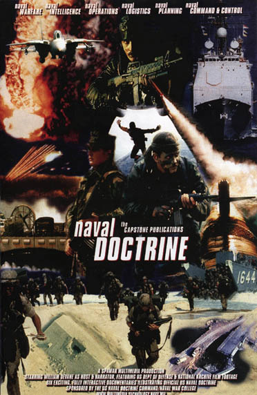 US Naval Doctrine Publications Promo Poster