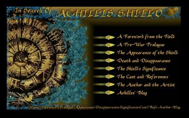 Achilles' Shield Interactive Home Page Menu