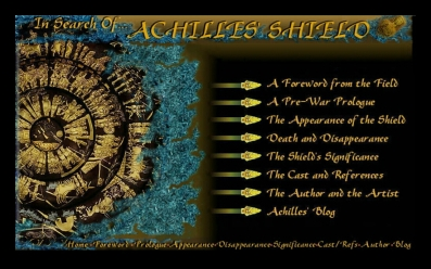 Achilles' Shield Interactive Home Page Menu