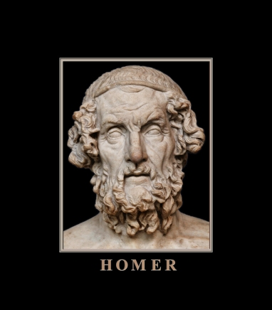 Marble bust of Homer, ca. 2nd - 1st c. BCE Roman copy from a now-lost Greek original. Source: Wikimedia Commons