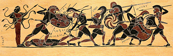 the epic death of achilles