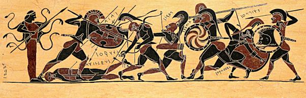 the epic death of achilles