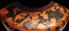 Attic Black-figure Amphora by the Antimenes Painter, ca. 510 BCE. Source: Wikimedia Commons