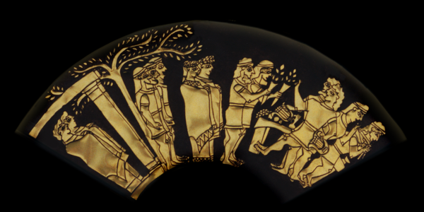 Inner Ring: Wedding Procession. From the Shield of Achilles by Kathleen Vail (copyright-All Rights Reserved)