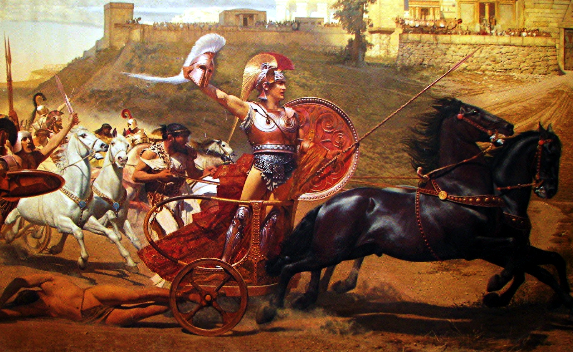 hector v achilles Free term papers & essays - achilles vs hector, mythology.