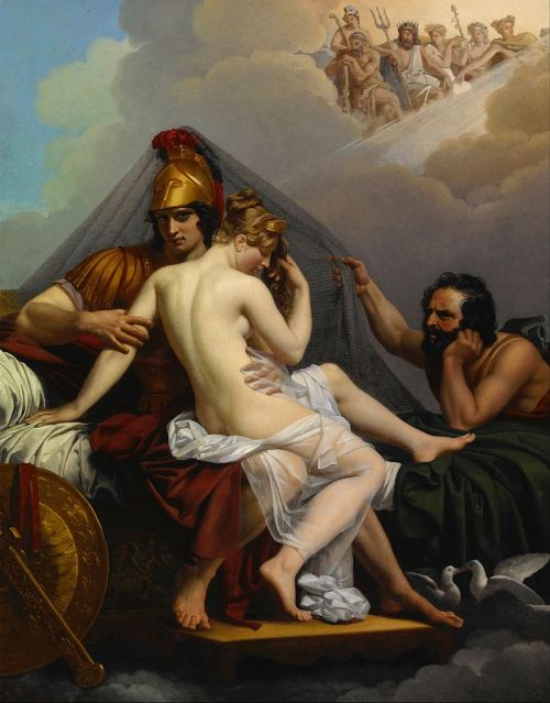 Mars and Venus Surprised by Vulcan, by Alexandre Charles Guillemot, ca. 1827. Source: Wikimedia Commons