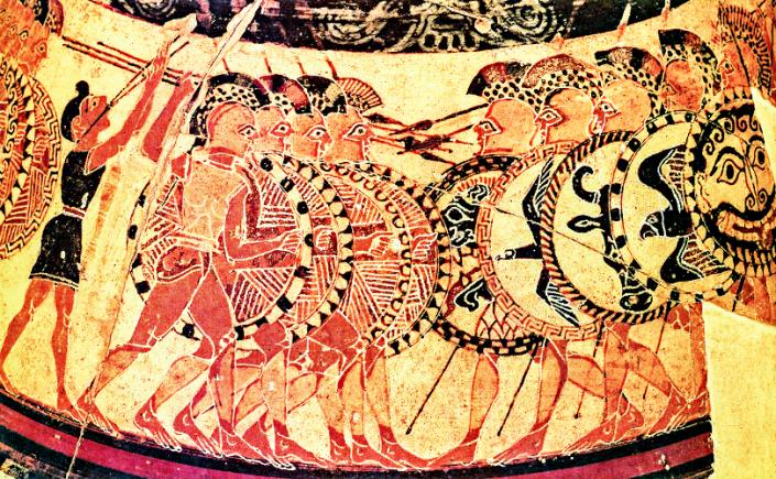 shield of achilles poem