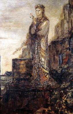 Helen on the Ramparts of Troy by Gustave Moreau, ca. late 19th century. Source: Wikimedia Commons