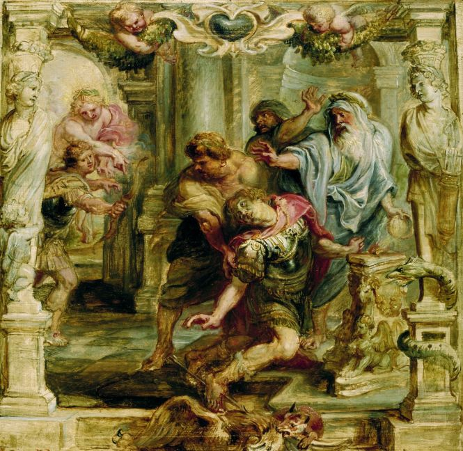 The Death of Achilles, by Peter Paul Rubens, ca. 1630. Source: Wikimedia Commons