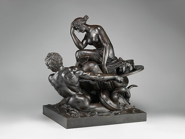 Thetis Transporting Arms for Achilles, ca. 1804–12, by William Theed the Elder