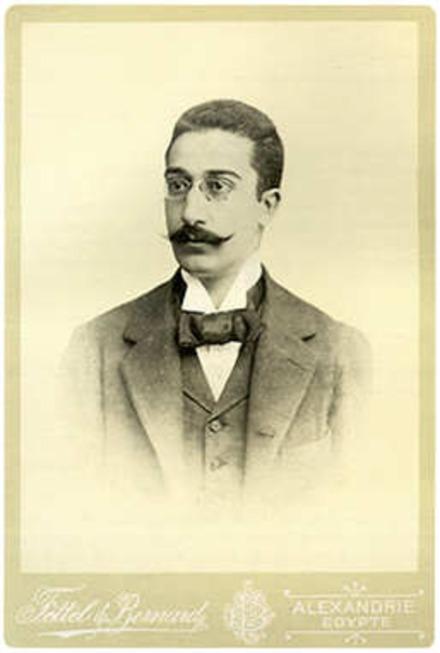C. P. Cavafy. Source: Wikimedia Commons