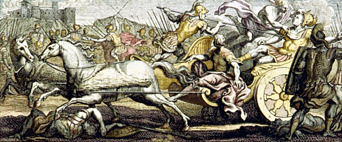 The Death of Patroklos. Source: Wikimedia Commons