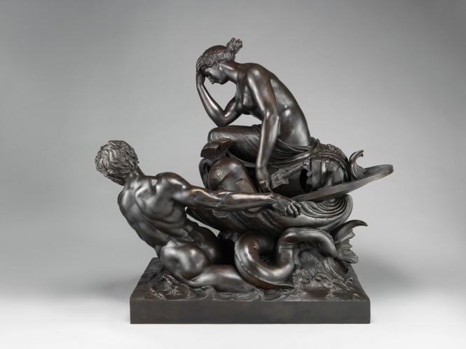 Thetis Transporting Arms for Achilles, Bronze Figurine by William Theed the Elder, ca. 1804-1812. Source: CC0 via Wikimedia Commons