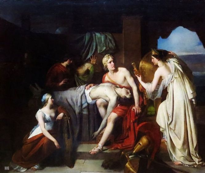 Thetis delivering Achilles New Armor by François Gérard, ca. 1782-1837. Source: CC0 via Wikimedia Commons