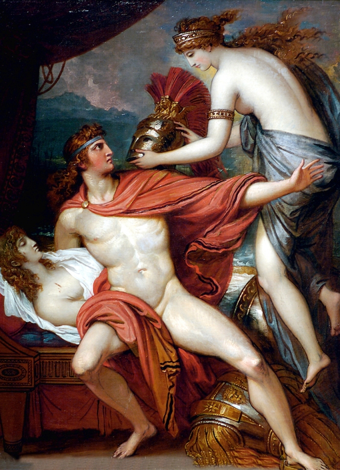 Thetis Bringing Armor to Achilles II, Benjamin West, 1806. Source: CC0 via Wikimedia Commons