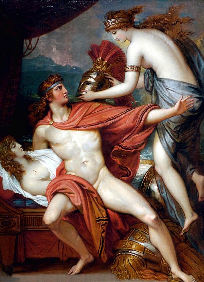 Thetis Bringing Armor to Achilles II, Benjamin West, 1806. Source: CC0 via Wikimedia Commons