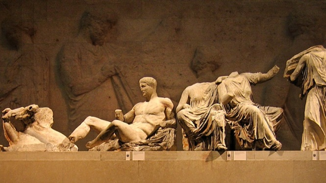 Detail from the Elgin Marbles. Source: GreekReporter.com