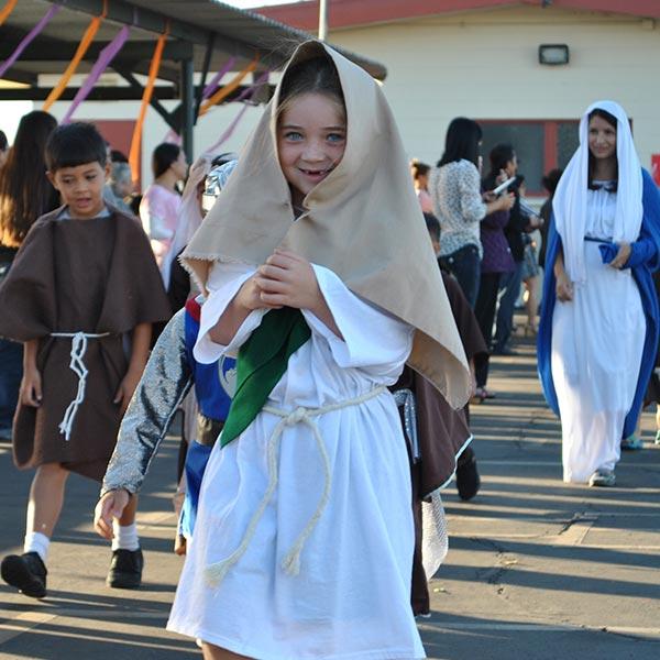 Blessed Sacrament School Kids and Teachers