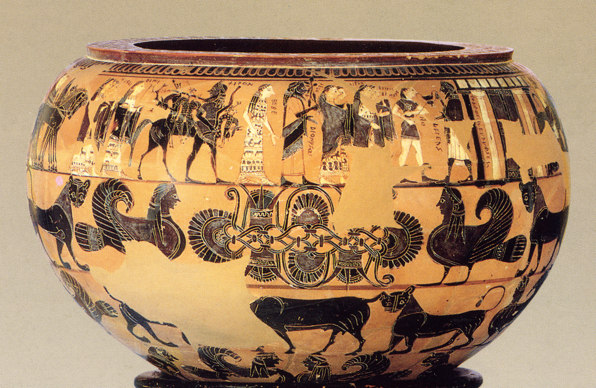 The wedding of Thetis and Peleus in Trojan War Art through the ages